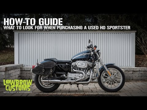 How-To Guide: What To Look For When Purchasing A Used Harley-Davidson Sportster