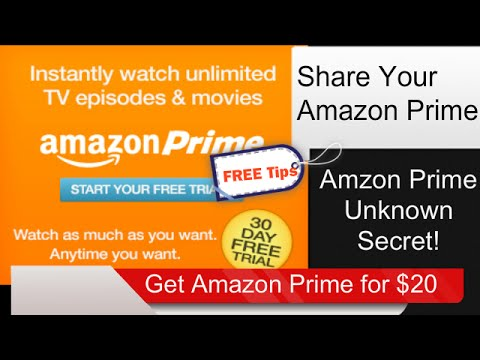 ★Share Amazon Prime| How to share amazon prime with amily|  by iWebHQ.com|(925)263-9099★