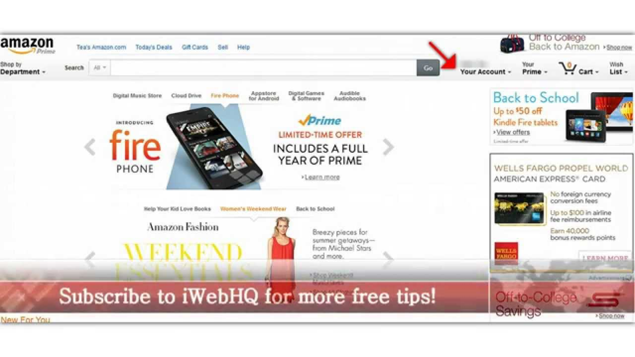 ★Share Amazon Prime  How to share amazon prime with family by iWebHQ com★