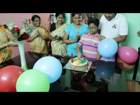 My Kid's Surprise Birthday Celebration Vlog || Indian Vlogger Soumali