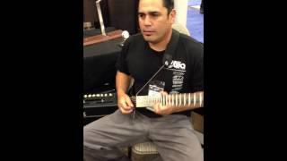 Gittler Guitar - But can it SHRED? NAMM 2013