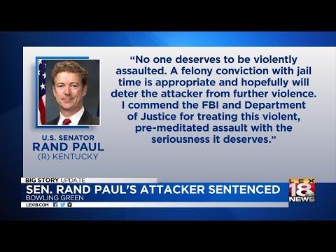 Sen. Rand Paul's Attacker Sentenced