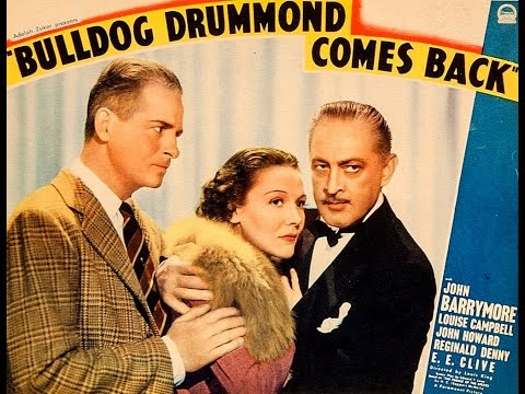 """Bulldog Drummond Comes Back"" - 1937 - Full Movie - Widescreen"