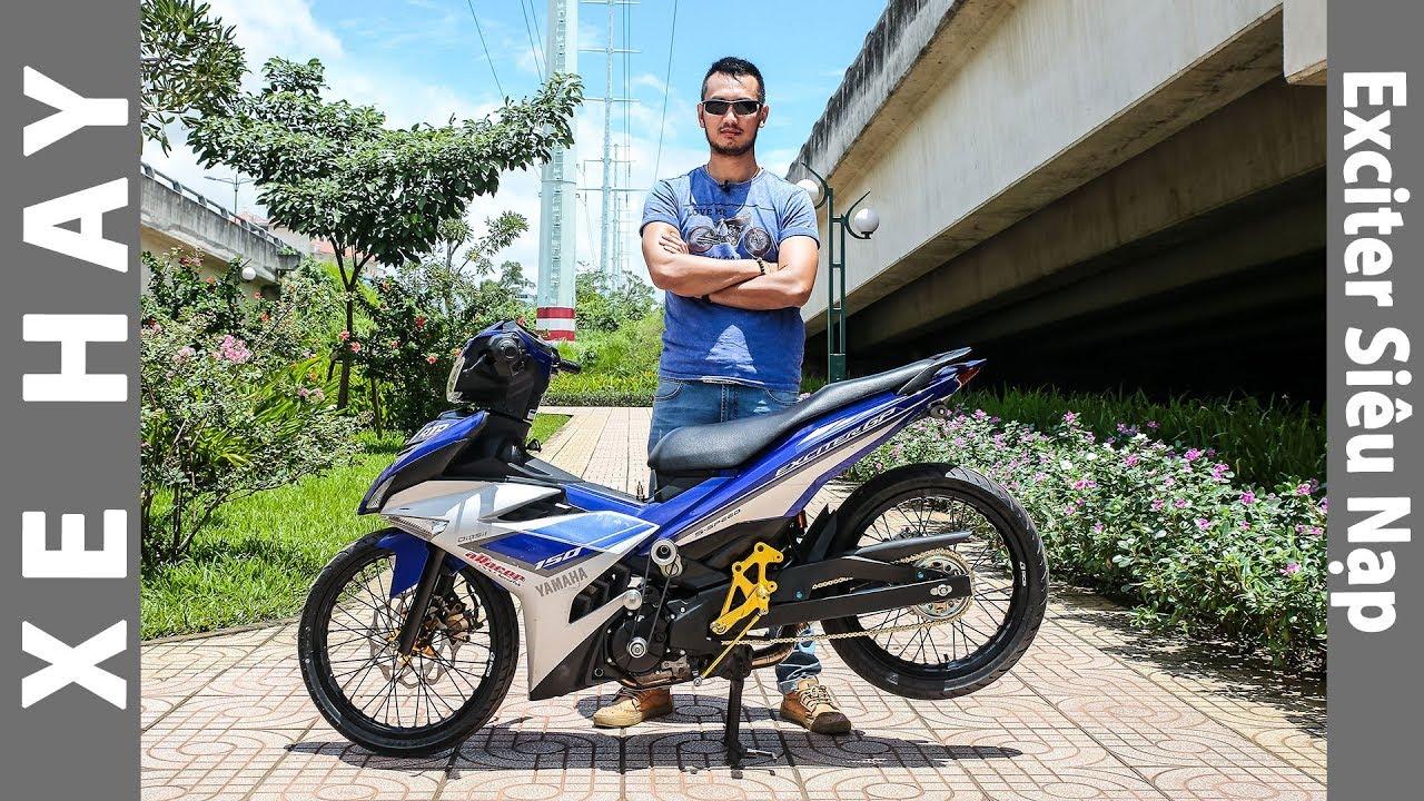 Yamaha Exciter độ siêu nạp supercharge mạnh như quái thú đầu tiên tại Việt Nam |XEHAY.VN|