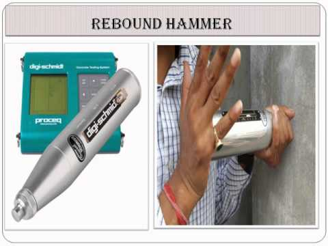 NON DESTRUCTIVE TESTING OF CONCRETE-REBOUND HAMMER TEST