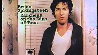 Springsteen Darkness Teaser And New Release TV Spots