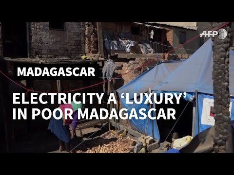Madagascar: electricity a 'luxury' for the few | AFP