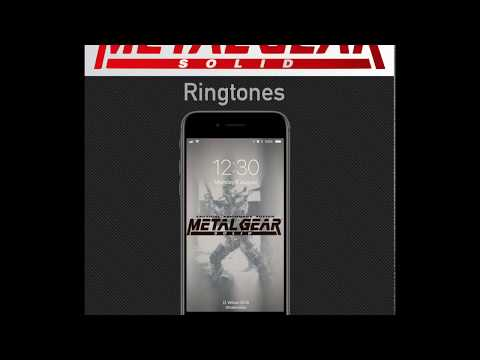 Ringtones from sound effects of the Original Metal Gear Solid