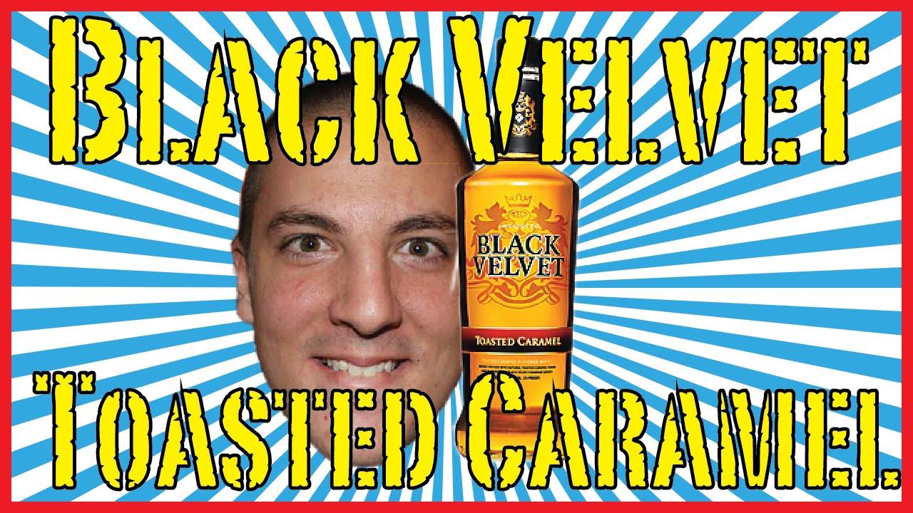 Black Velvet Toasted Caramel - Drink Review! - YouTube