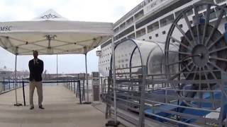 Breve video delle nuove procedure di imbarco MSC che ricalcano quel...