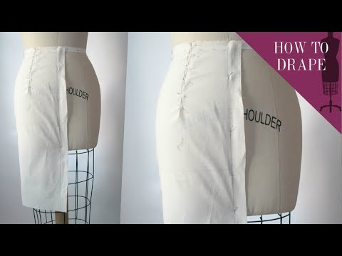 How To Drape A High Waist Pencil Skirt