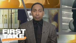 Stephen A. Smith Bids Farewell To Tony Romo As A Cowboy | First Take | March 9, 2017