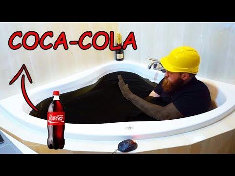 24H W WANNIE PEŁNEJ COCA-COLI CHALLENGE   Bathing in Coke Challenge
