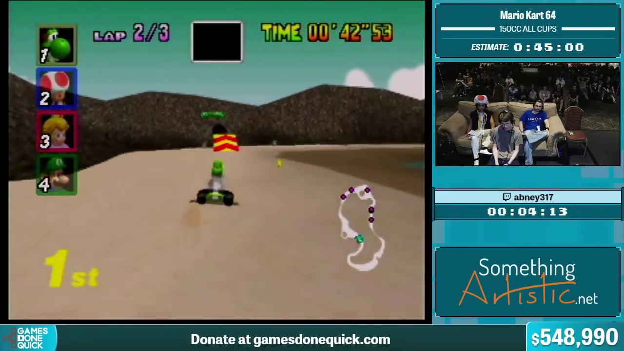 Mario Kart 64 By Abney317 In 30 36 Summer Games Done