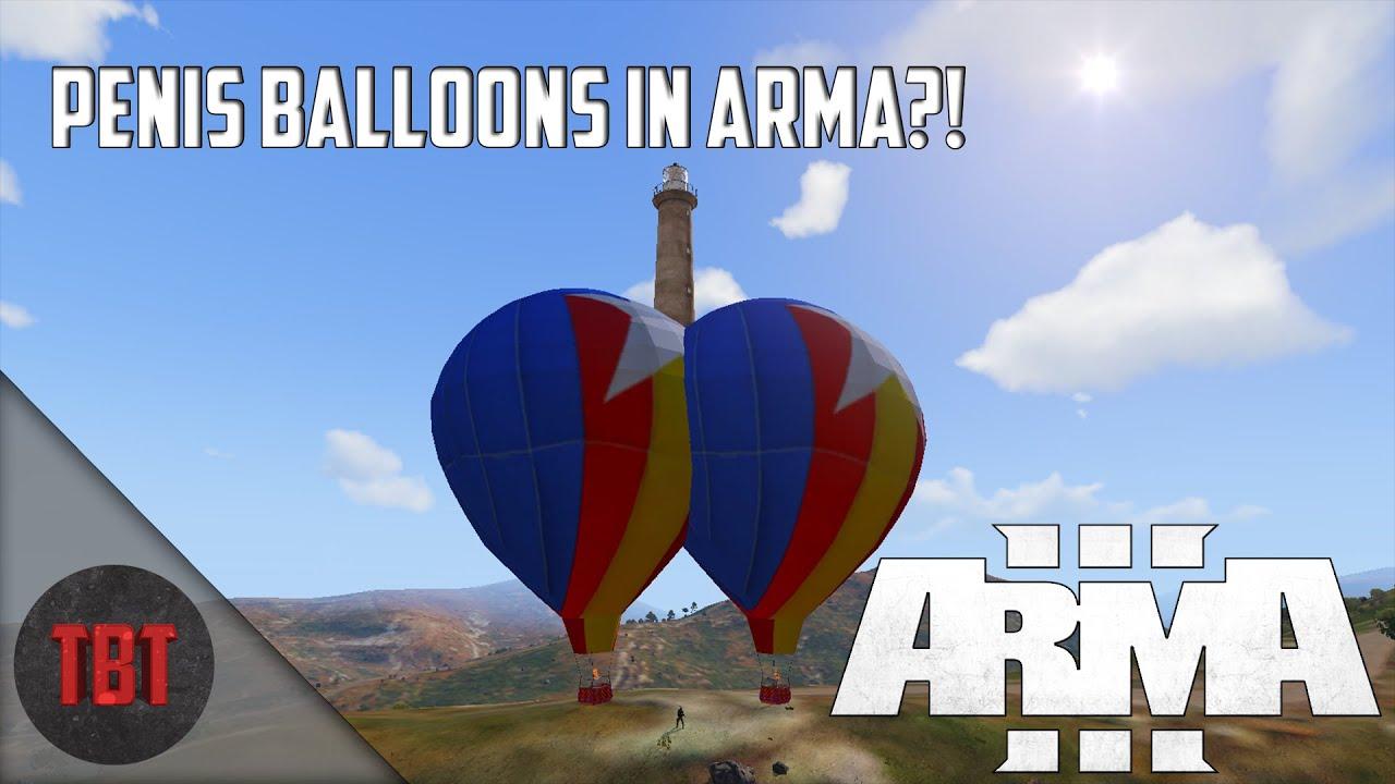 Arma 3 Hot Air Balloon Mod
