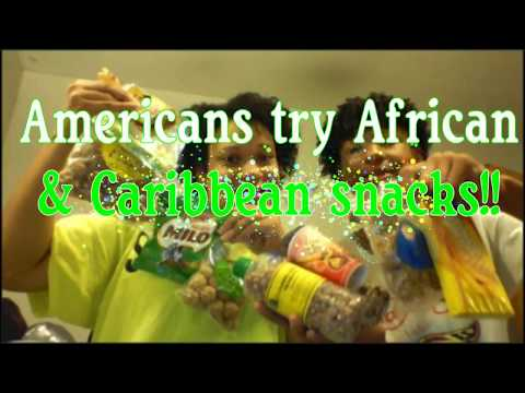 AMERICANS TRY AFRICAN & CARIBBEAN SNACKS| SEPTEMBER 2017