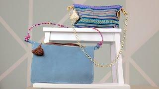 Die etwas andere Fold Over Bag nähen - perfekt gegen Taschendiebe