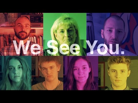 We See You - A Message To Students Everywhere