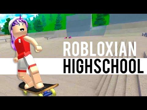 Robloxian Highschool Update - New Skatepark, New Skateboard Physics! | Roblox
