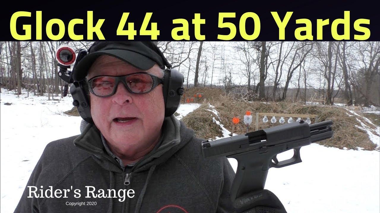 Glock 44 at 50 yards