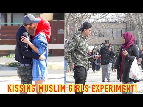 KISSING MUSLIM GIRLS FOR MONEY EXPERIMENT! (PRANK INVASION RESPONSE)