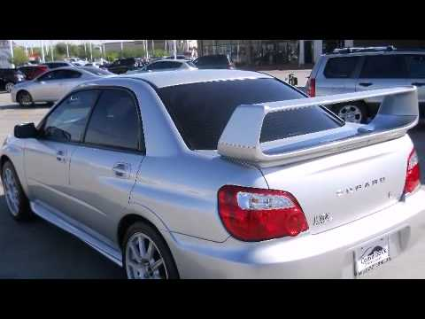 2005 Subaru Impreza Wrx Sti W Silver Painted Wheels Sedan