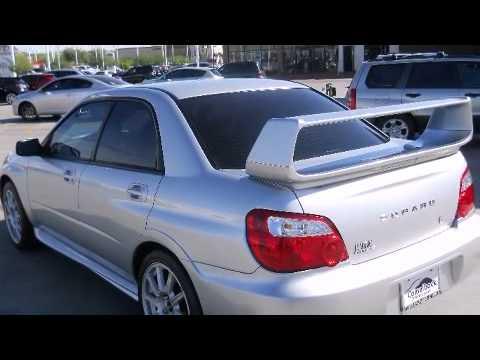 2005 Subaru Impreza Wrx Sti W Silver Painted Wheels Sedan In Phoenix Az 85014 Youtube