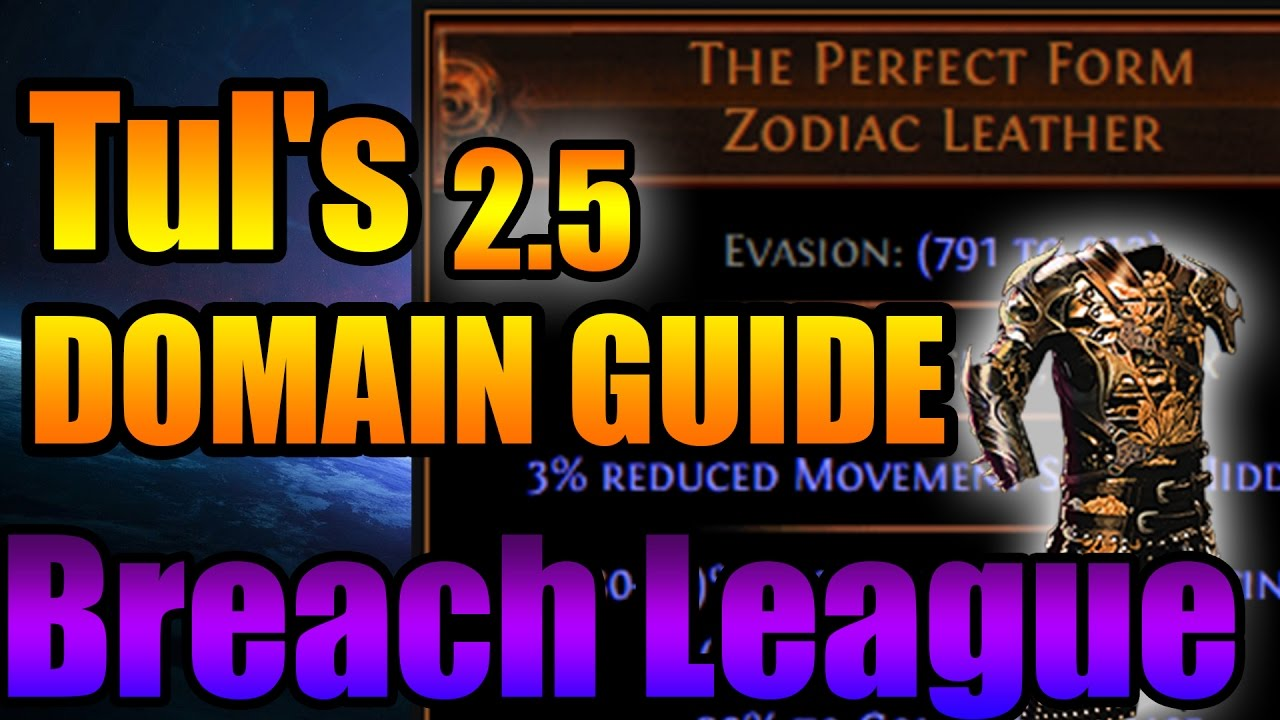 Path of Exile: Breachlord (Cold) TUL - Boss Fight Guide 2.5 Breach ...