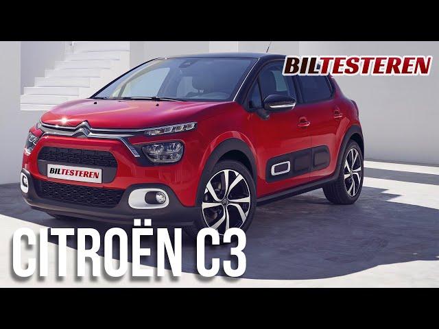 Citroën C3 har fået et facelift (teaser)
