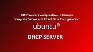 how to configure DHCP Server in Ubuntu Linux 18.04 ( Complete Server & client )