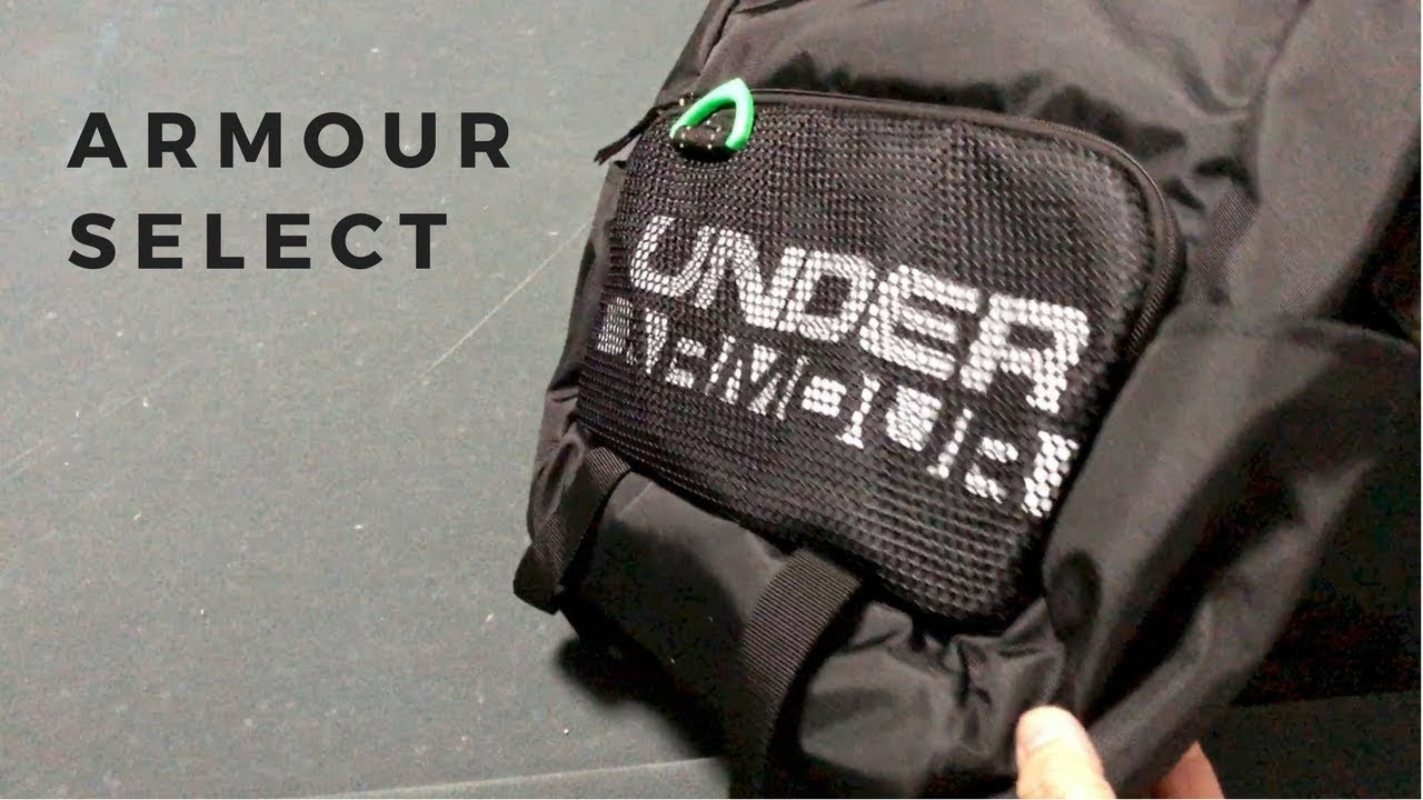 dc937ab936e3 Under Armour Boys  Armour Select Backpack - Unboxing - YouTube