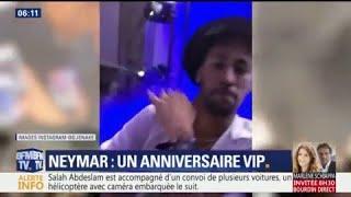 Les images de la soirée d'anniversaire de Neymar à Paris