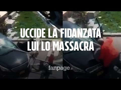 Download New York, spara e uccide la sua fidanzata in strada: l'uomo lo investe e lo massacra di botte