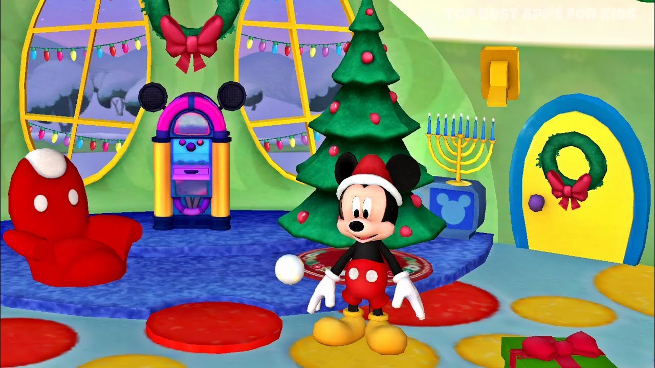mickey mouse clubhouse christmas with minnie mickey app for kids - Mickey Mouse Clubhouse Christmas
