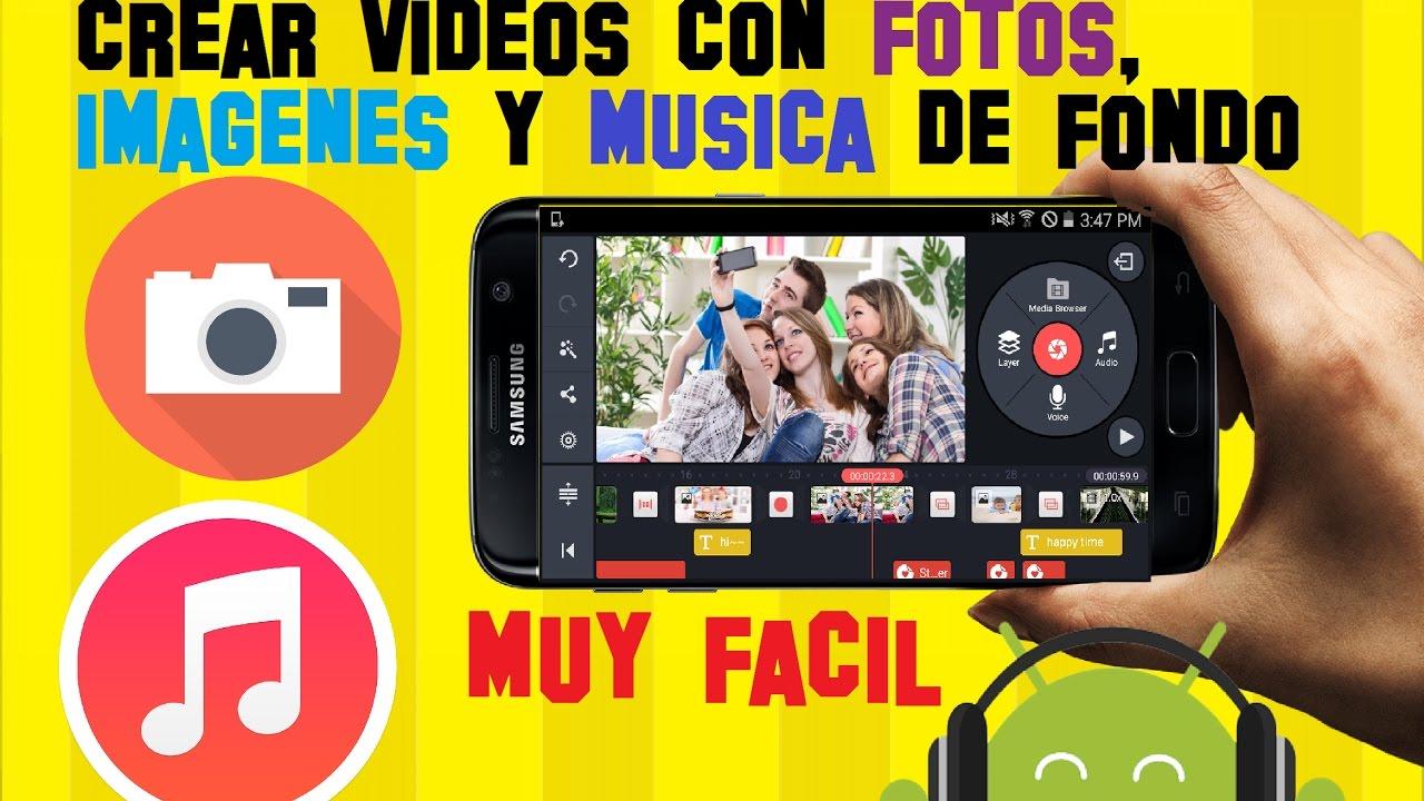 Como Hacer y Crear VIDEOS con FOTOS y MUSICA y Animación en tu ...
