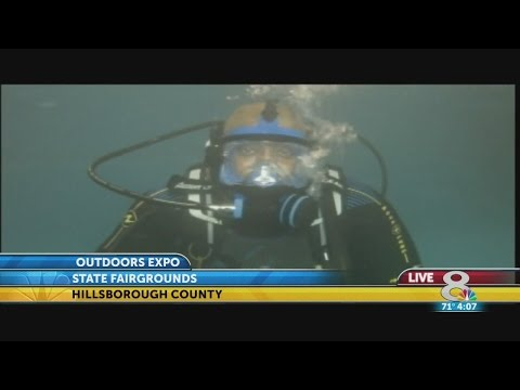 Scuba diving free at News Channel 8's Outdoors Expo