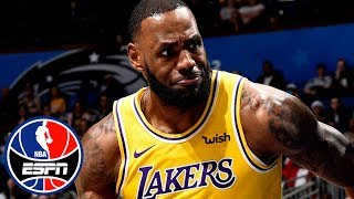 LeBron James, Lakers struggle in loss vs. Magic | NBA Highlights