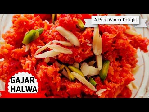 GAJAR HALWA | No Khoya | No Powder Milk | No Condensed Milk /Traditional and Easy Gajar Halwa Recipe