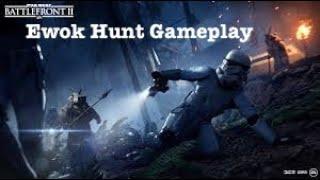Ewok Hunk Gameplay | Battlefront 2