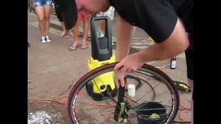 Mycie roweru w 15 minut, a nawet mniej.