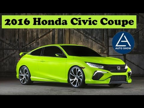 2016 Honda Civic Coupe, officially will make its world premiere at the Los Angeles auto show