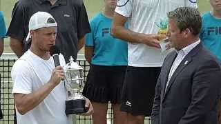2014 Hall of Fame Tennis Championships Trophy Presentation