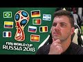 PREDICTING THE ENTIRE 2018 FIFA WORLD CUP!!!