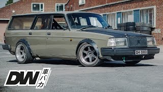 Volvo 240 TURBO track car project walk-around