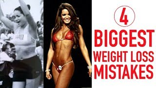 My Top 4 Biggest Weight Loss Mistakes | Mis 4 principales errores de pérdida de peso
