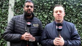 Cassius & Helder: Thursday 27th April - Derry Mathews & Zolani Tete