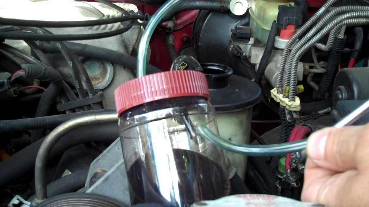 2003 Jaguar Fuel Filter Homemade Fluid Extractor Youtube