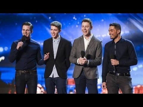 Britain's Got Talent S08E04 Jack Pack Big Band Boy Band Sing Frank Sinatra's That's Life
