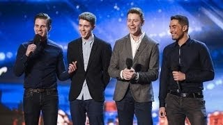 "Britain's Got Talent S08E04 Jack Pack Big Band Boy Band Sing Frank Sinatra's ""That's Life"""