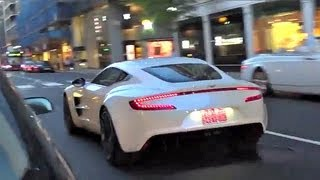 Aston Martin ONE-77 awesome Sounds!